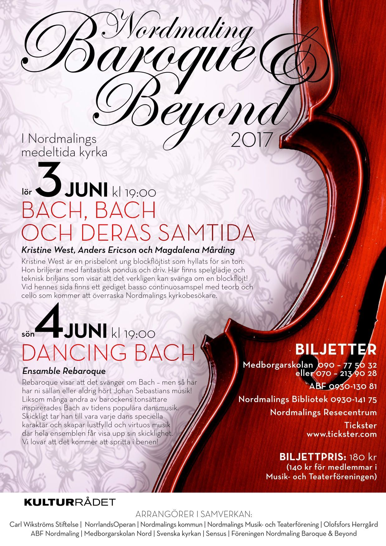 Nordmaling Baroque and Beyond 2017