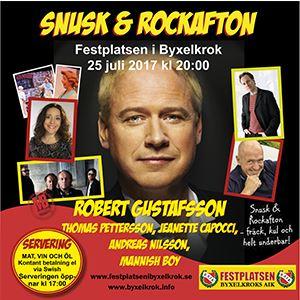 Snusk & Rockafton med Robert Gustafsson