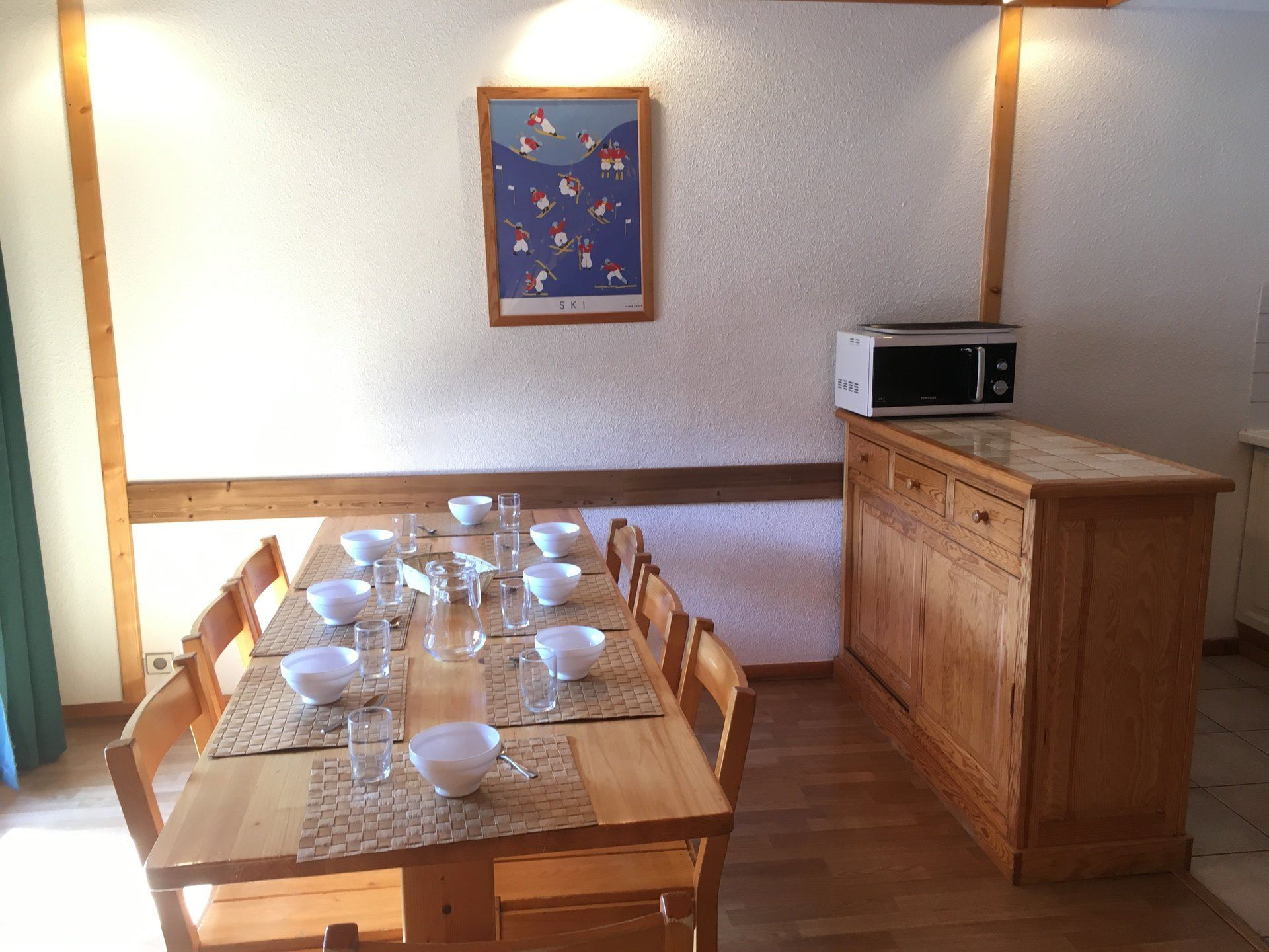 4 Rooms 8 Pers ski-in ski-out / HORS PISTE 12