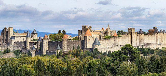 Excursion Cité de Carcassonne et le Château Comtal