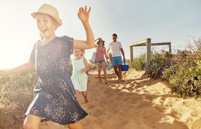 Familjevecka på Böda Sand