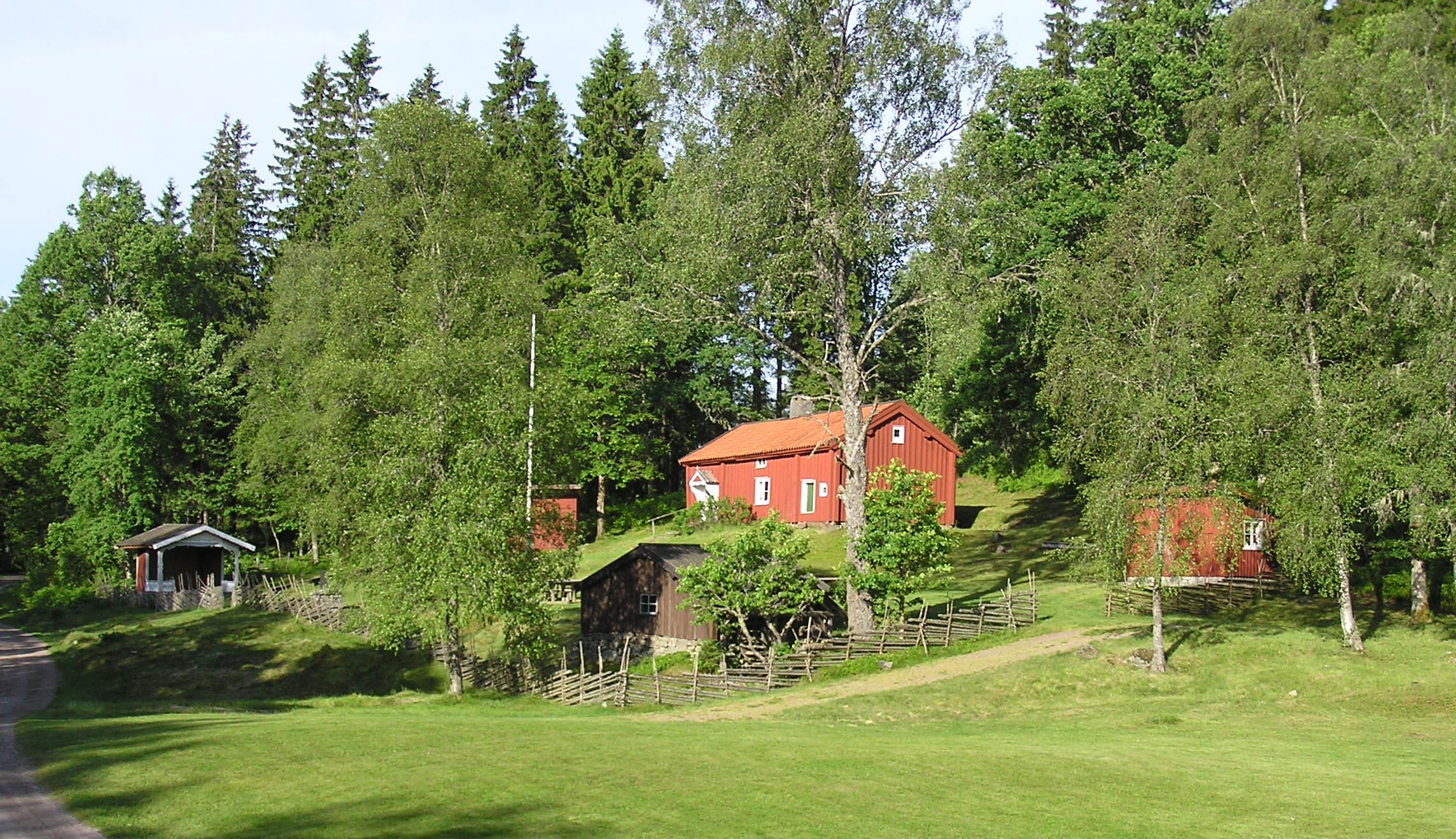 Öppet hus i Åsenhöga hembygsdpark