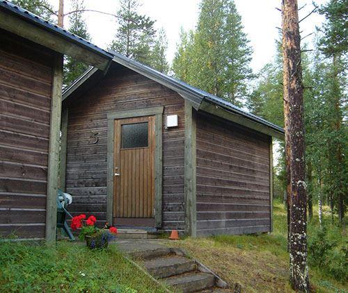 Bjurholms camping,  © Bjurholms camping, Tvåbäddsstuga Bjurholms camping