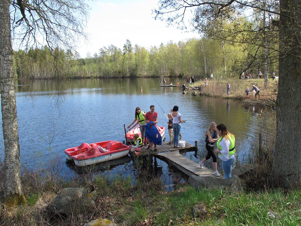 1:a Metardagen 10 maj i Ödevata Fiskecamp