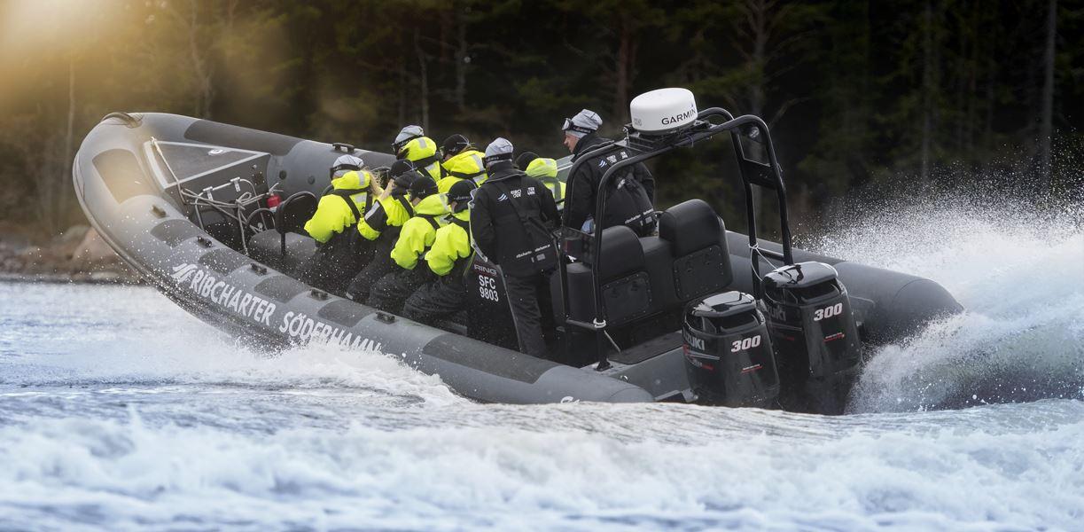 RIB båttur till Storjungfrun