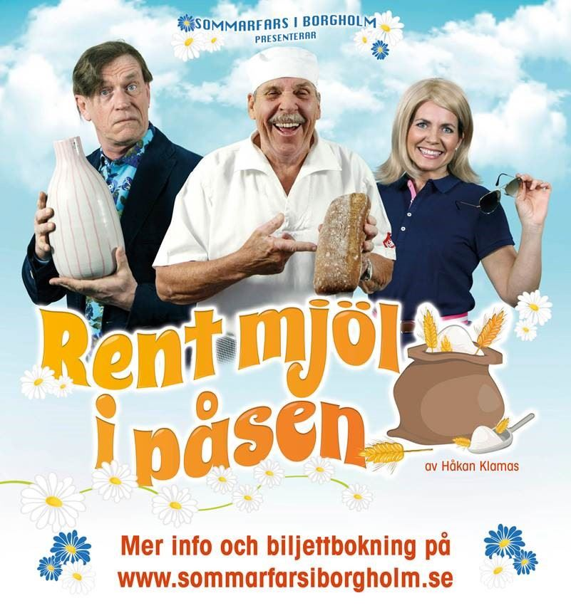 Rent Mjöl i Påsen – Teater i Borgholm