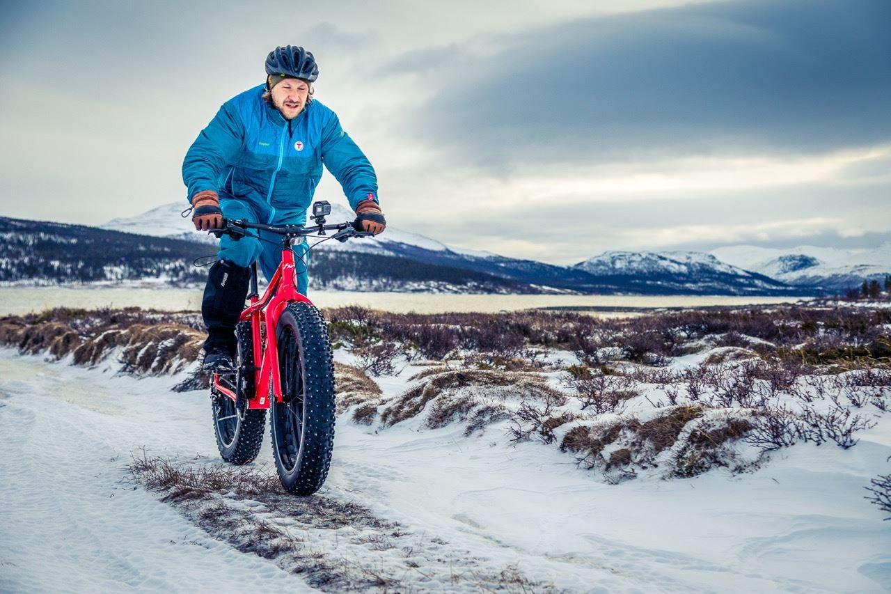 Kristoffer Mæle Thuestad , Lei sykkel hos Gjendesheim