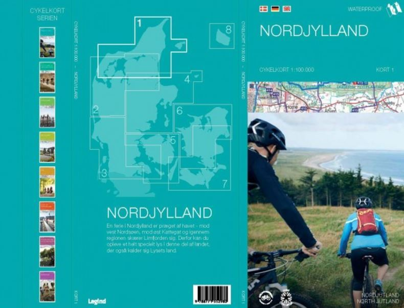Nordjylland cykelkort