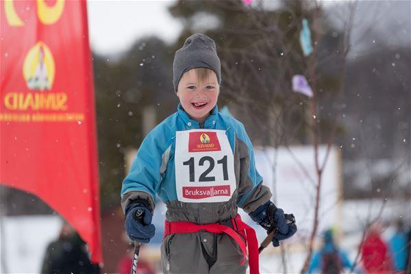 Jocke Lagercrantz , Sun Maid-race för barn