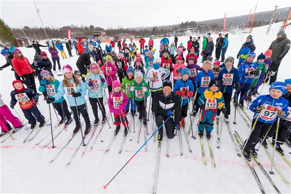 Jocke Lagercrantz , Åka skidor med barn