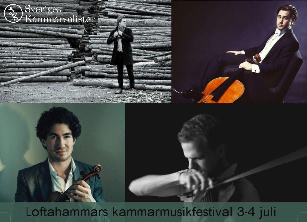 Loftahammars kammarmusikfestival med Sveriges Kammarsolister