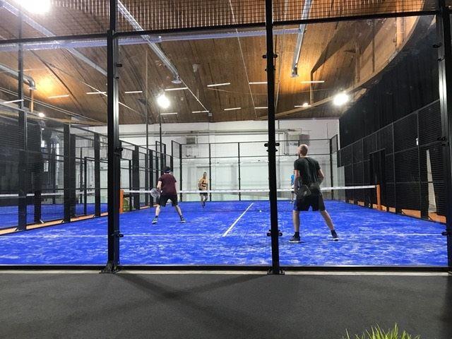 Foto: PDL Östersund,  © Copyright: PDL Östersund, Padel-tennisbana