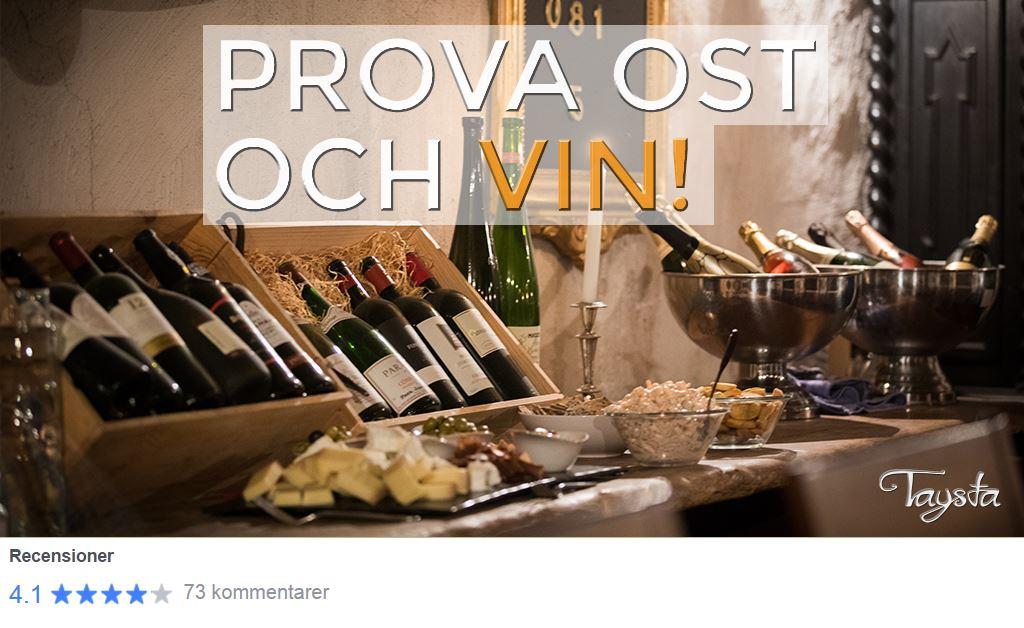 Taysta,  © Taysta, Ost och vinprovning Gävle