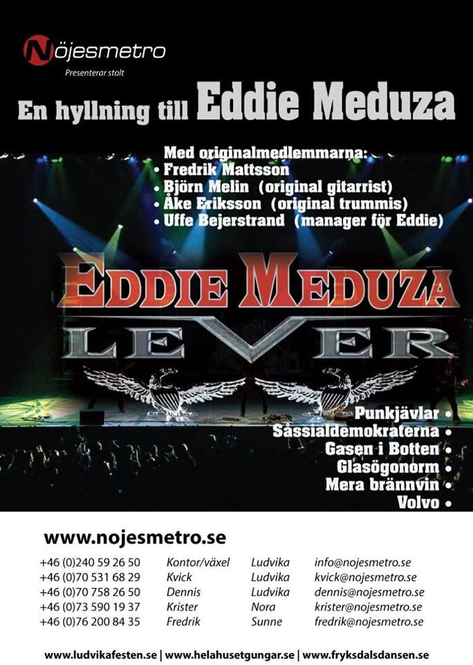 Eddie Meduza lever & Rocky Mountains