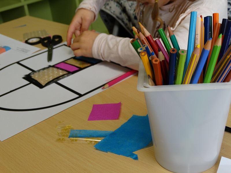 Petit peintre-verrier (en famille avec enfants de 8 à 12 ans)
