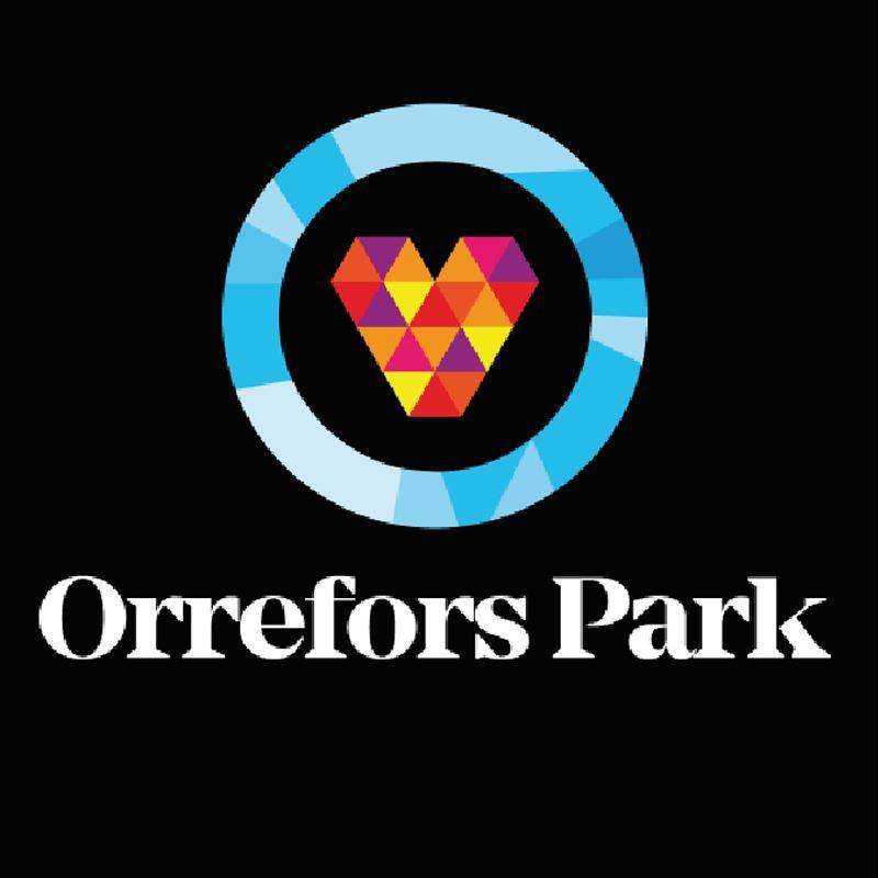 Invigning av Orrefors park