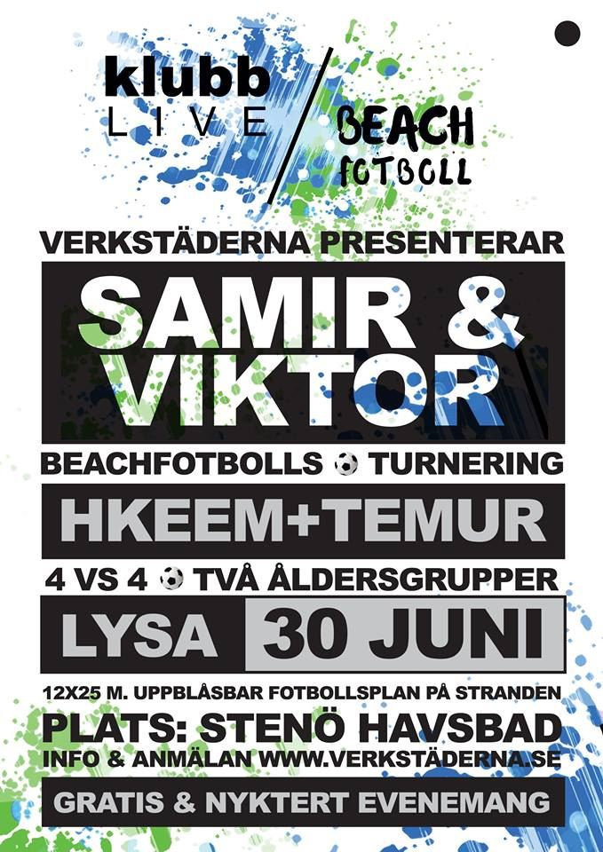 Klubb Live/Beach Fotboll