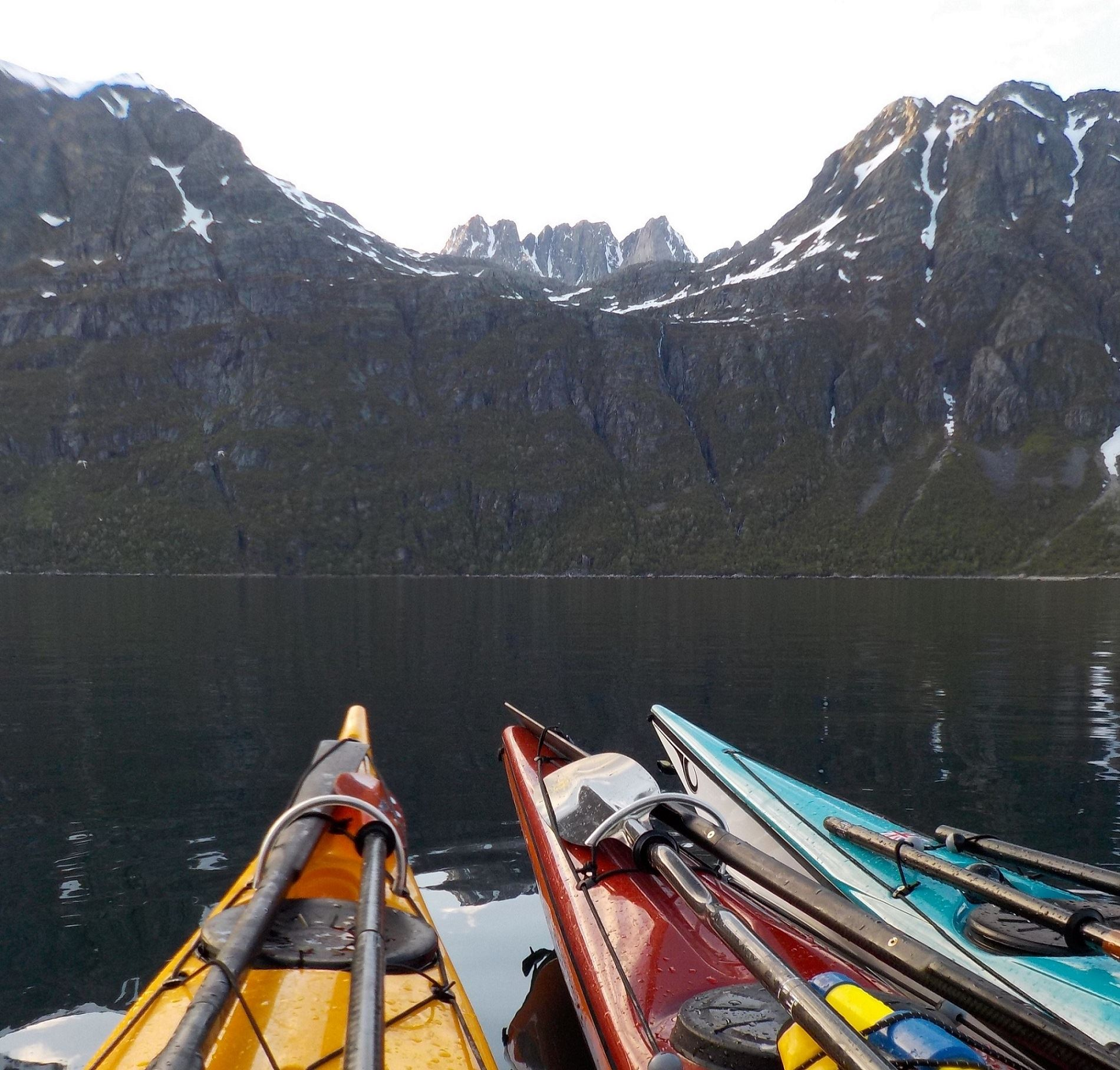 Midnight Sun Kayaking - Elements Arctic Camp