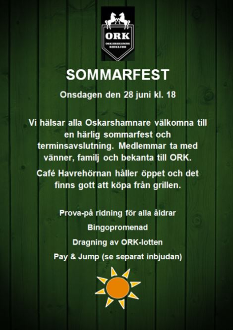 ORK:s Sommarfest