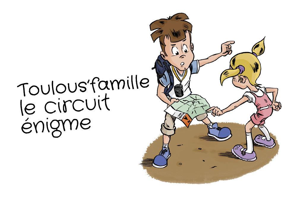Toulous'famille, le circuit énigme