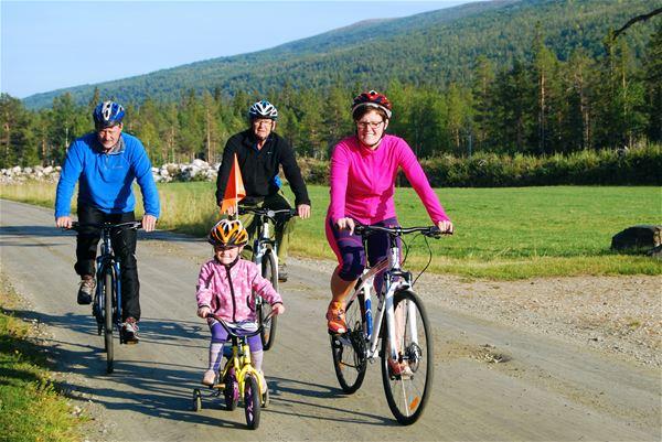 Furuheim gård,  © Furuheim gård, På sykkeltur i Susendal