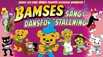 Barn, musik: Bamses sång- och dansföreställning