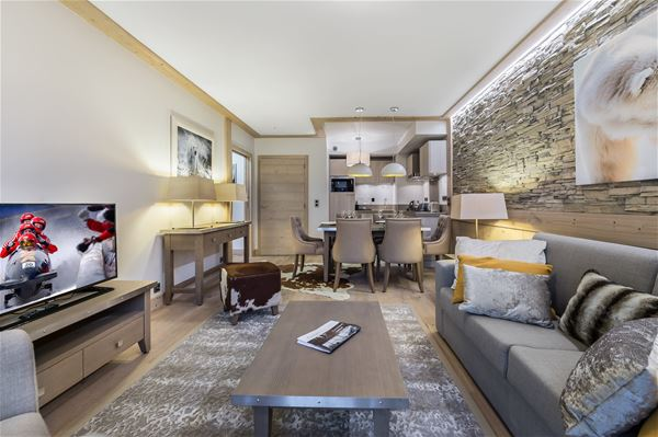 3 rooms 4/6 people / CARRE BLANC 246 (Mountain of Dream)
