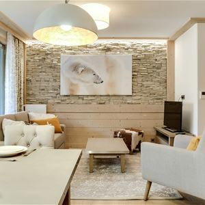 3 rooms 4 people / CARRE BLANC 130 (Mountain of Dream)