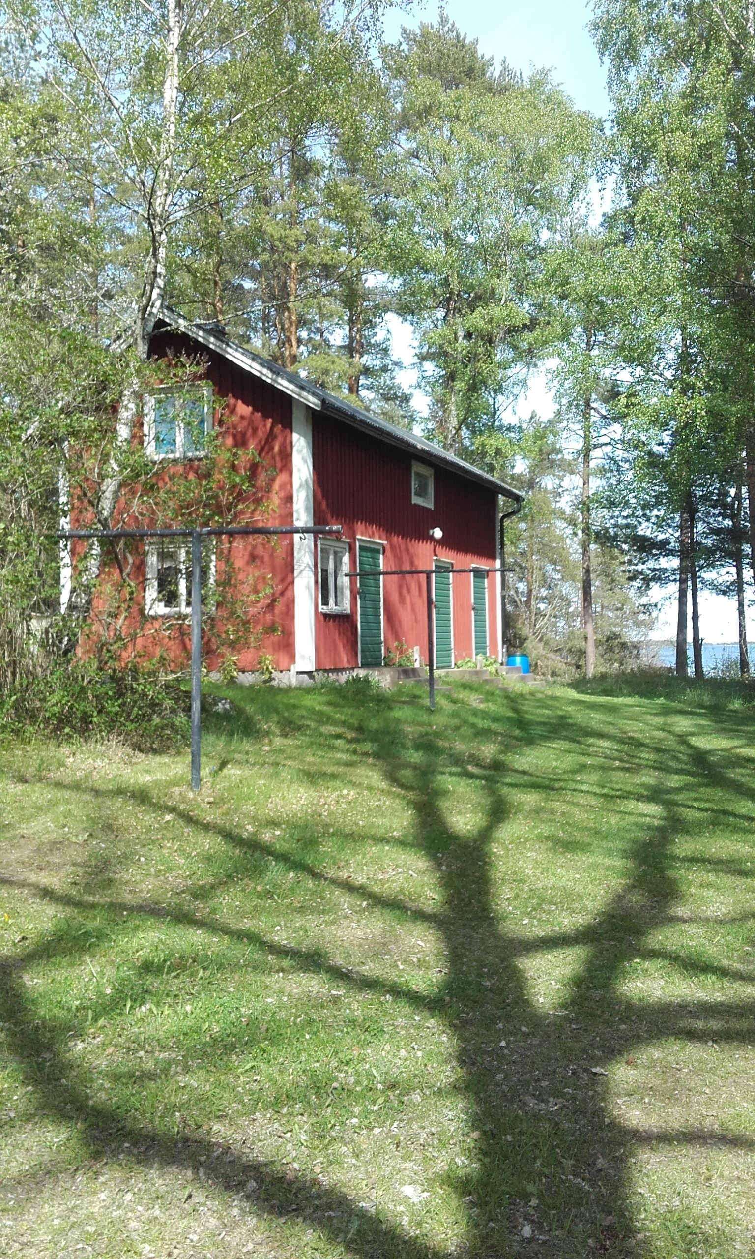 Privatboende Gårdshus Västerviks skärgård, Hasselö