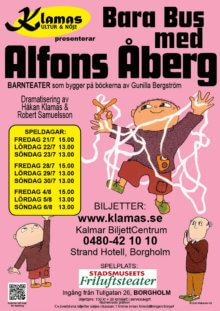 Bara bus med Alfons Åberg!