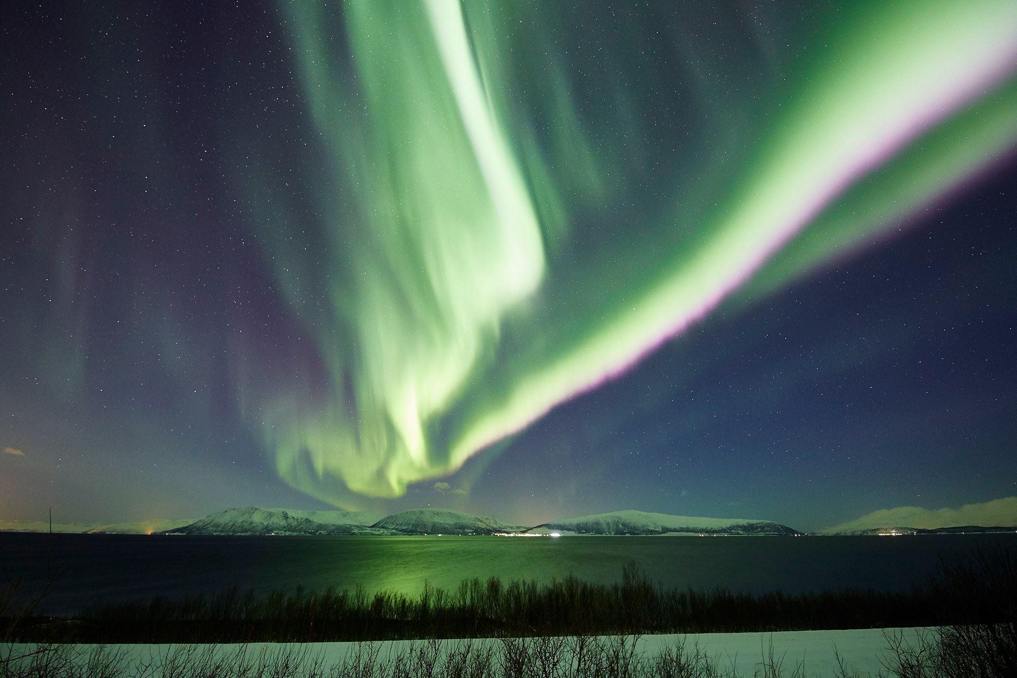 Nordlys fototur fra Tromsø - Green Gold of Norway