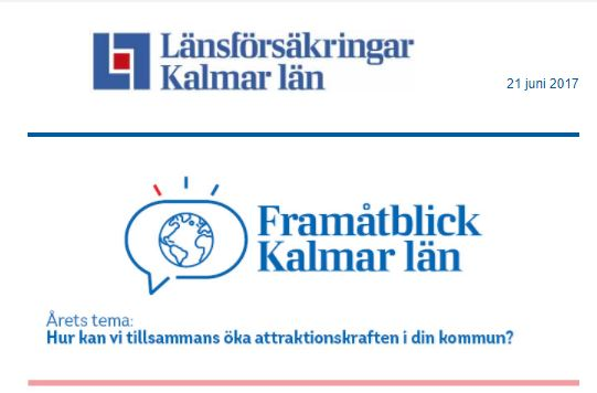 Framåtblick Kalmar Län