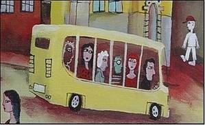 Konstutställning på Lofta Caffè - Buss Skjuts
