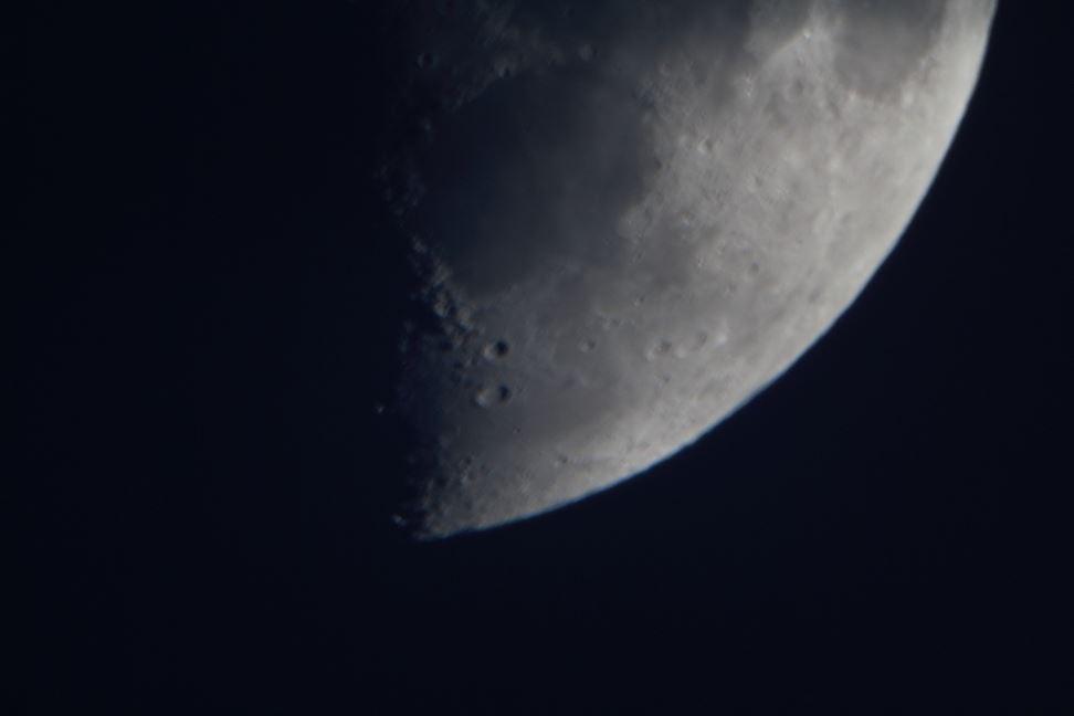 Astronomisk visningskväll för allmänheten: Månen och Saturnus