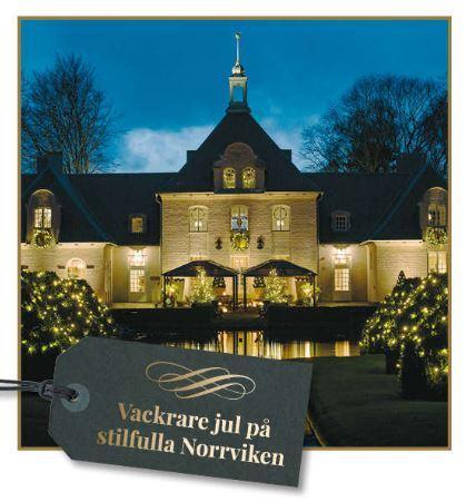 Vackrare Jul på stilfulla Norrviken