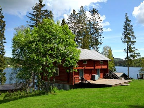 Cabins and rooms at Lappudden-High Coast Outdoor Center