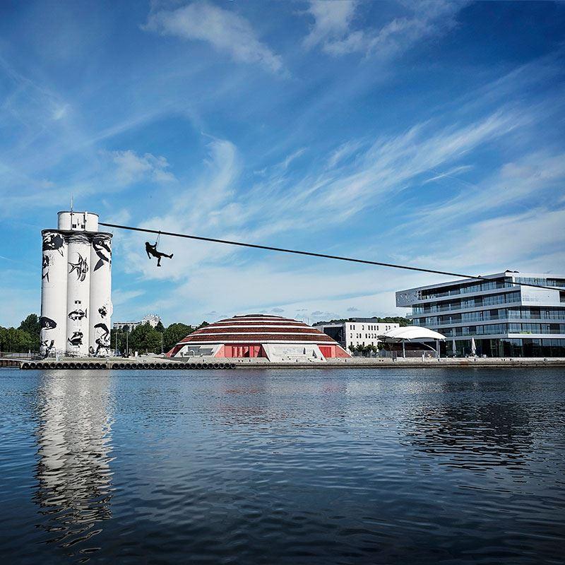 Danmarks længste svævebane på over 500 m