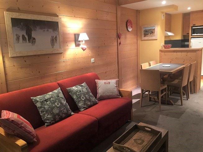 2 Room 5 Pers ski-in ski-out / ACONIT 411
