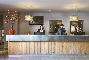 """Hôtel skis aux pieds / HOTEL LES BRUYERES (4 Flocons """"Argent"""")"""