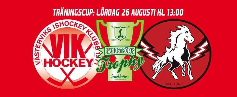 VIK Hockey - Sandströms Trophy: Västerviks IK - Vita Hästen