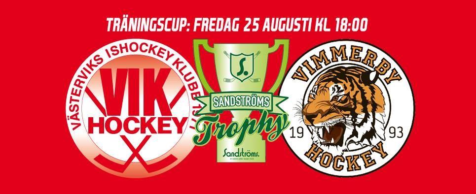 VIK Hockey - Sandströms Trophy: VIK-Vimmerby