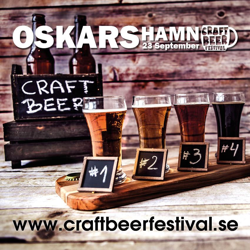 Oskarshamn Craft Beer festival