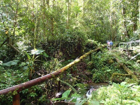 El Pipeline o Cascada Escondida
