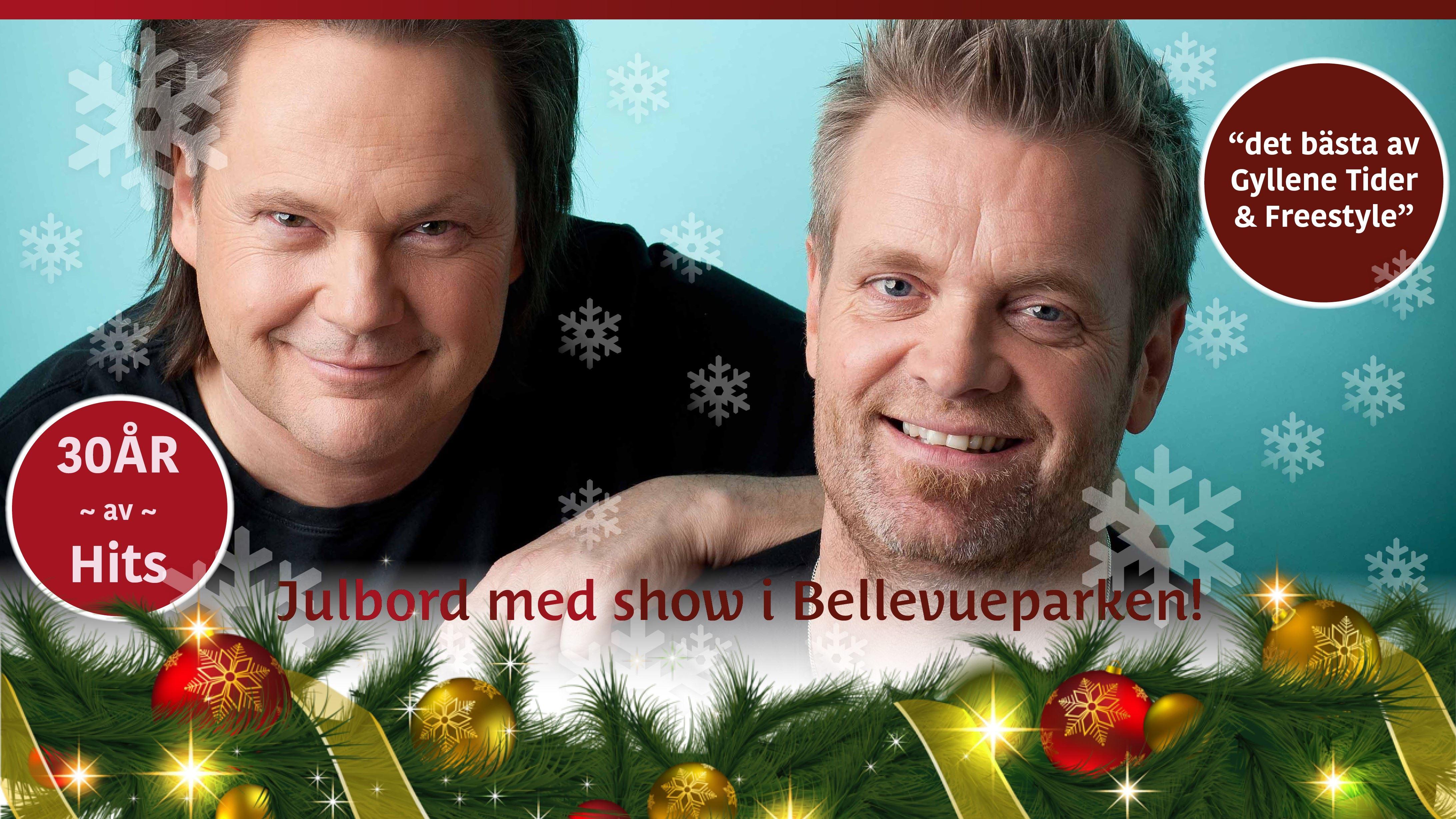 Julbord och show med Syd & Ekman