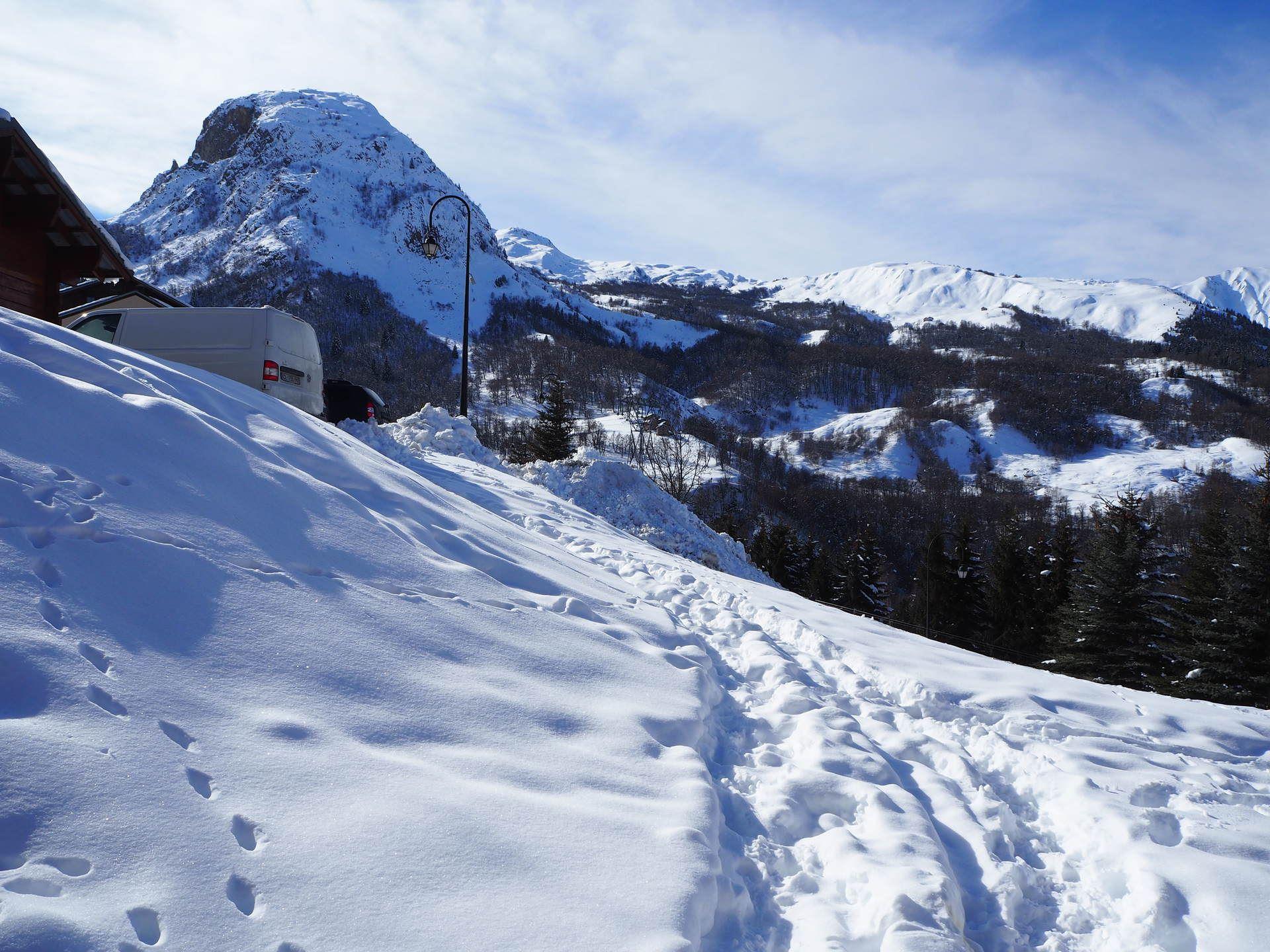 5 Pièces 10 Pers skis au pieds / Altitude 2