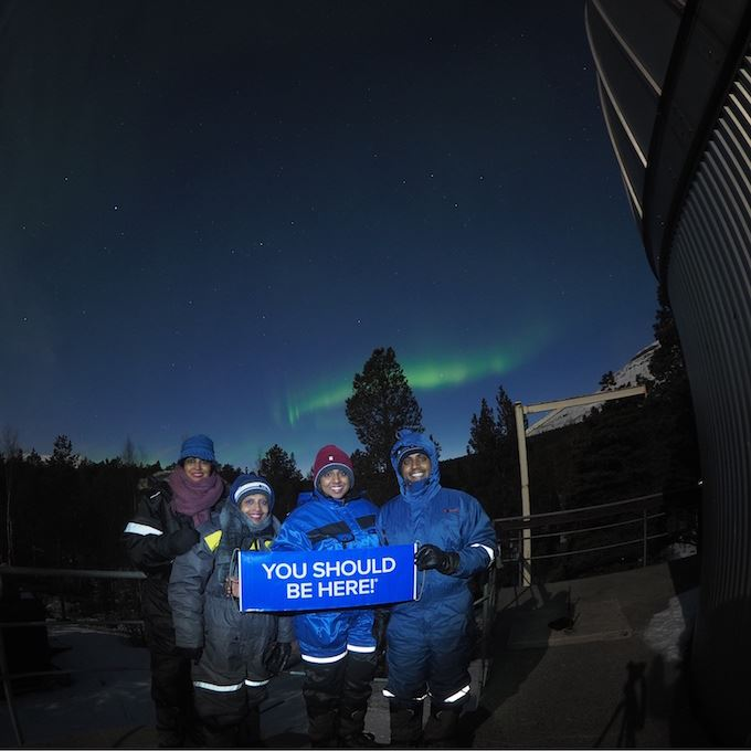 Northern Lights short chase – Knowledge, storytelling and technology – Tromsø Guide