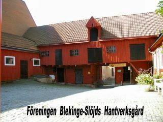 Handicrafts from Blekinge