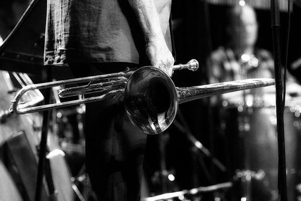 Livejazz i Umeås jazzstudio