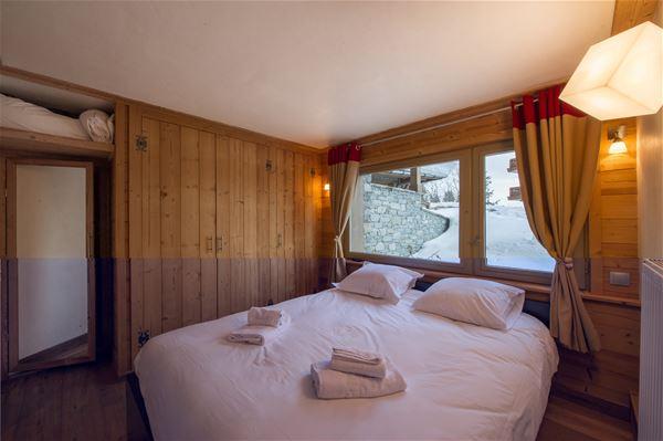 2 pièces 4 personnes skis aux pieds / FORET DU PRAZ 101 (montage de charme) / Séjour Sérénité
