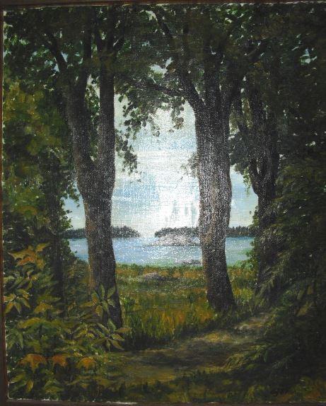 """""""Målade Minnen"""" - utställning på Galleri Cupé"""